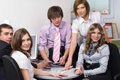 Office team — Stock Photo