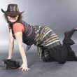 Sexy cowgirl — Stock Photo #4137347