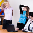 Royalty-Free Stock Photo: Businesswomen in office