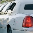 Stock Photo: Limousine for wedding
