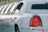 Limousinen für hochzeit — Stockfoto