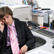 Businessman in office — Foto de Stock