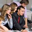 Young business team — Stock Photo #4171329