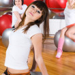 Fitness girls — Stock Photo