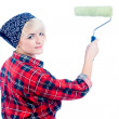 Home painter - Stock Photo