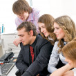 Young business team — Stock Photo #4217453