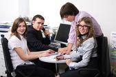 Office-team — Stockfoto