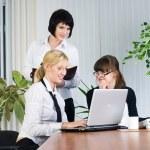 Businesswoman presentation — Stock Photo #4238795