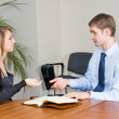 Business Interview — Stockfoto #4249878