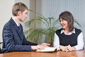 Business-meeting im büro — Stockfoto