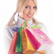 Shopping girl — Stock Photo #4257619