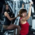 chica de gimnasio — Foto de Stock