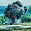 Explosion - Stock Photo