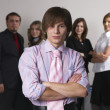 Young business team — Stock Photo #4325010