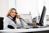 Šéf kanceláře — Stock fotografie