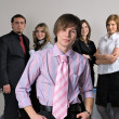 Young business team - 