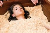 Japanese spa procedure — Stock Photo