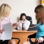 Businesswomen in office — Stock Photo #4552272