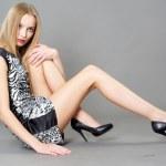 Sexy fashionable woman — Stock Photo