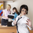 Businesswomen in office — Stock Photo