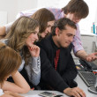 Young business team — Stock Photo #4654083