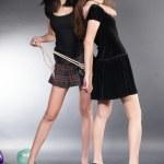 Yong women argue — Stock Photo