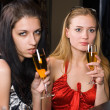 Young women in a bar — Stock Photo #4898484