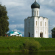 Church of the Intercession on the River Nerl — Stok fotoğraf