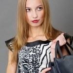 Sexy fashionable woman — Stock Photo #5028132