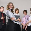 Young business team — Stock Photo #5086762
