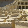 Hatchepsut Templ ruins — Stock Photo
