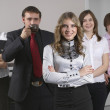 Young business team — Stock Photo #5253623