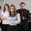 Young business team — Stock Photo #5253685