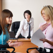 Businesswomen in office - Stock Photo