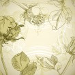 Rose frame - 