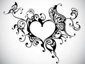κορνίζα καρδιά — Διανυσματικό Αρχείο