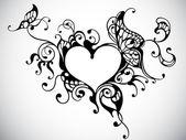 Cadre coeur — Vecteur