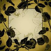 玫瑰花蕾 frame1 — 图库矢量图片