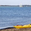 Stock Photo: Waterline kayaks