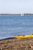Waterline kayaks — Stock Photo
