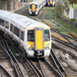 Stock Photo: Commuter trains