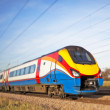 High speed train — Stock Photo #5093979