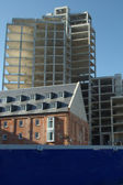 Flats in Construction — Stock Photo