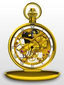 Steampunk pocket watch — Stock Photo