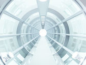 Tunnel futuristic — Foto de Stock