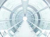 Tunnel futuristic — Stock Photo