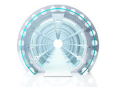 Tunnel futuristic — Stock Photo
