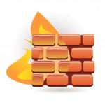 Firewall — Stock Vector #3923566