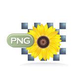 Png значок — Cтоковый вектор