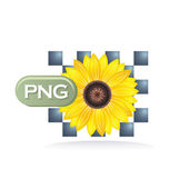 Png icon — Vector de stock